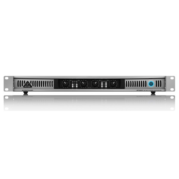 Behringer EPQ304 4-Channel Power Amp - Front View