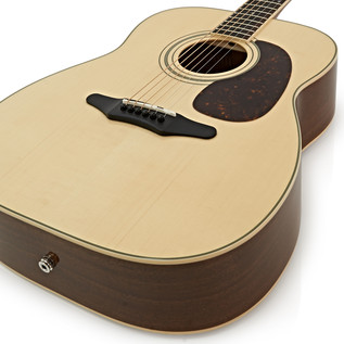 Silvertone 633E Electro Acoustic Guitar, Natural