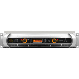 Behringer iNUKE NU6000DSP Power Amp - Front View