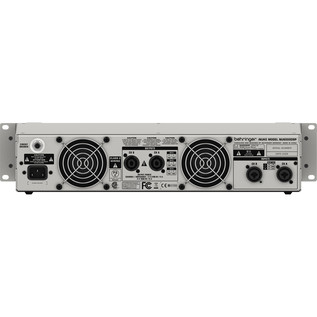 Behringer iNUKE NU6000DSP Power Amp - Rear View