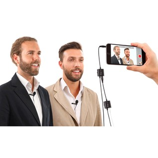 IK Multimedia iRig Mic Lav (iPhone Not Included)
