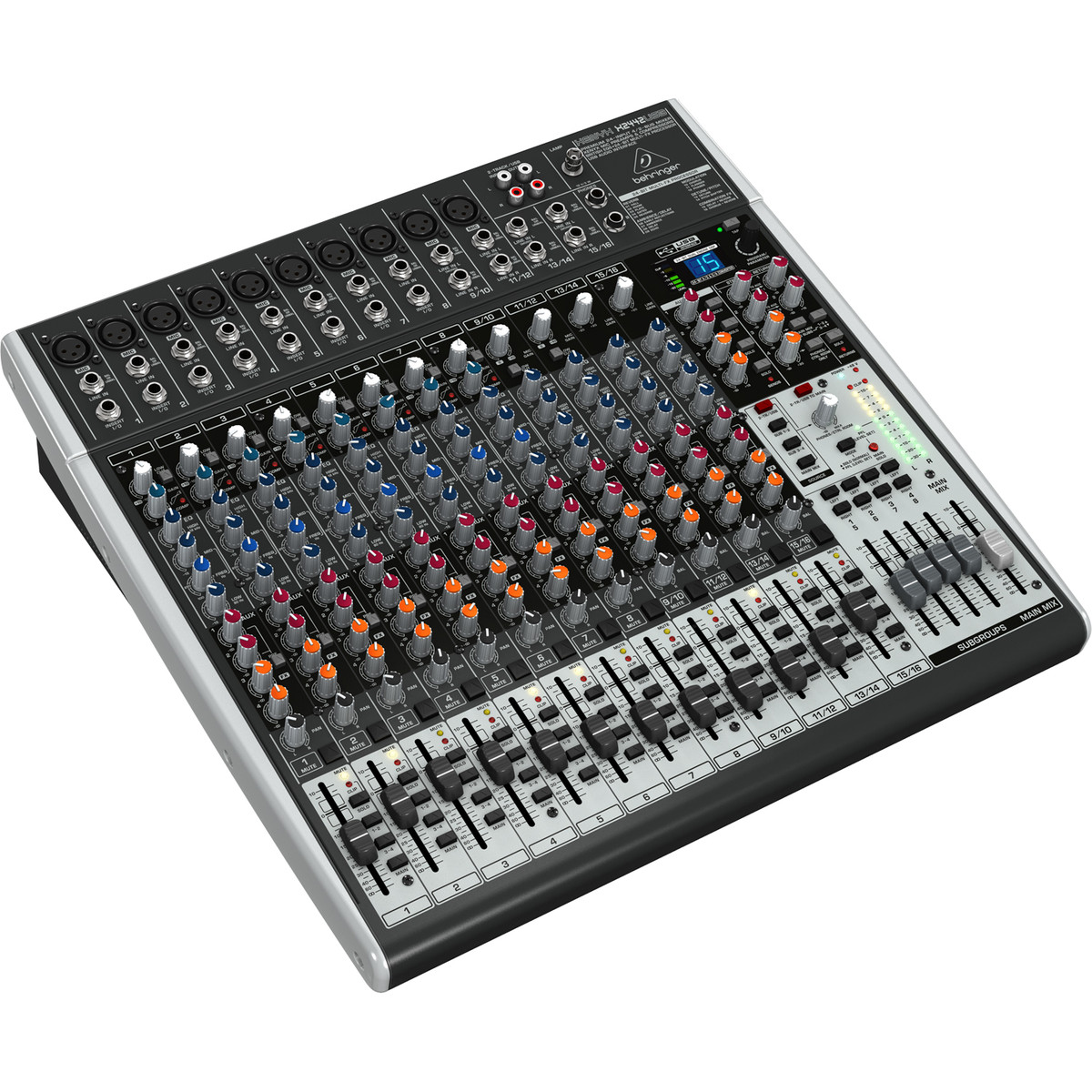 behringer xenyx x2442usb 24 channel analog mixer at. Black Bedroom Furniture Sets. Home Design Ideas