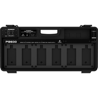 Behringer PB600 Pedal Board with PSU - Board