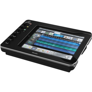 Behringer iStudio iS202 iPad Mixer Dock - Side View