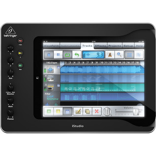Behringer iStudio iS202 iPad Mixer Dock - Top View