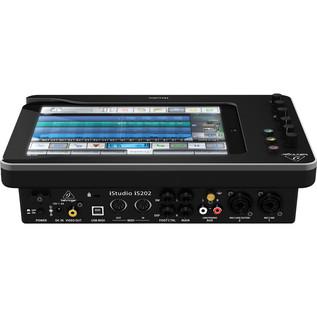 Behringer iStudio iS202 iPad Mixer Dock - Rear View