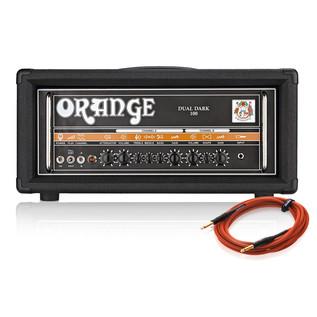 Orange Dual Dark 100 Watt Dual Channel Amplifier + Free Cable