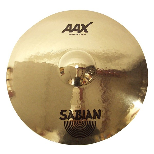 Sabian AAX 22'' Metal Ride Cymbal, Brilliant Finish
