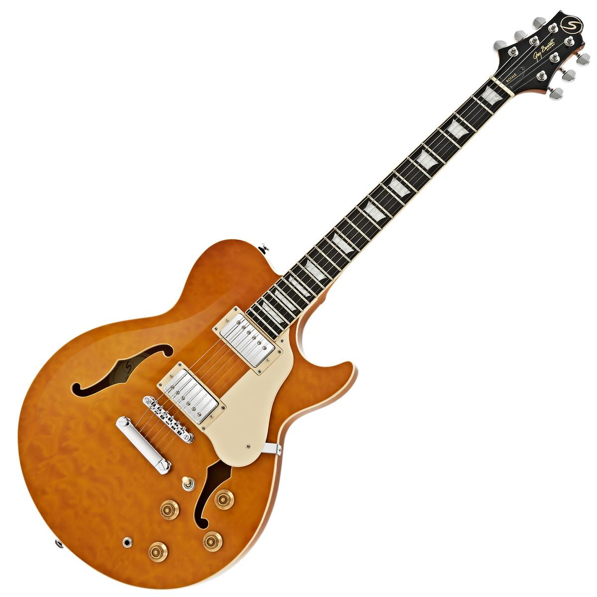 greg bennett royale rl 3 guitare lectrique ambre. Black Bedroom Furniture Sets. Home Design Ideas