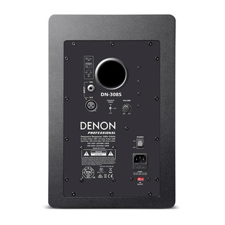 Denon DN-308S 8'' Active Reference Monitor, Single