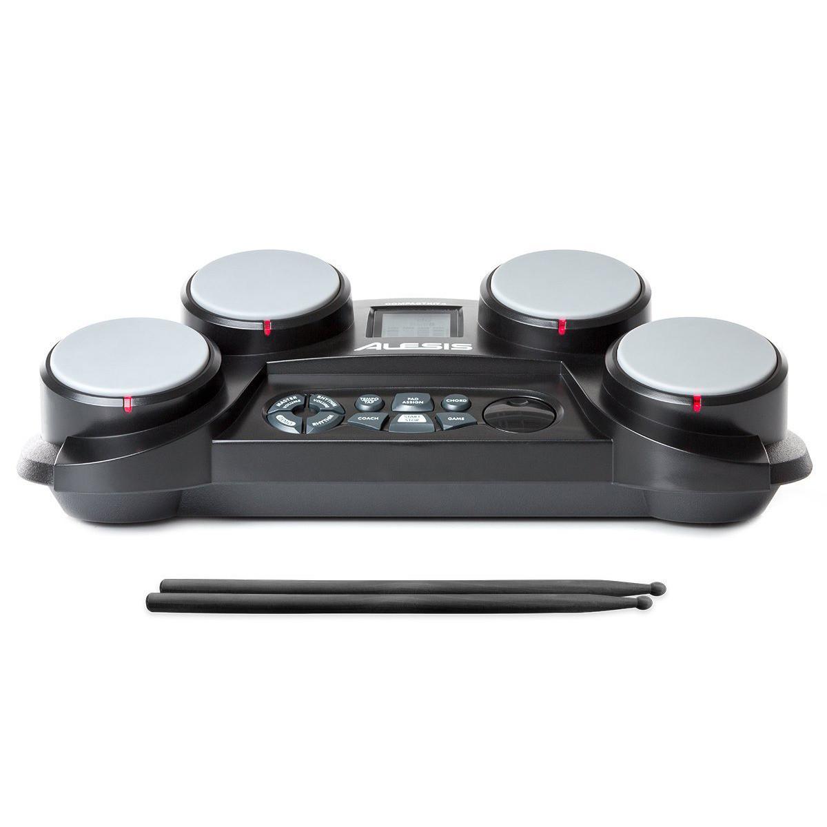 Alesis Compactkit 4 Tabletop Electronics Drum Kit At