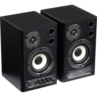 Behringer MS20 Digital Monitor Speakers (Pair) - Side View
