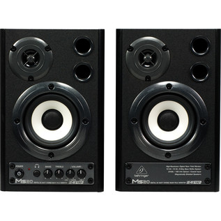Behringer MS20 Digital Monitor Speakers (Pair) - Front View