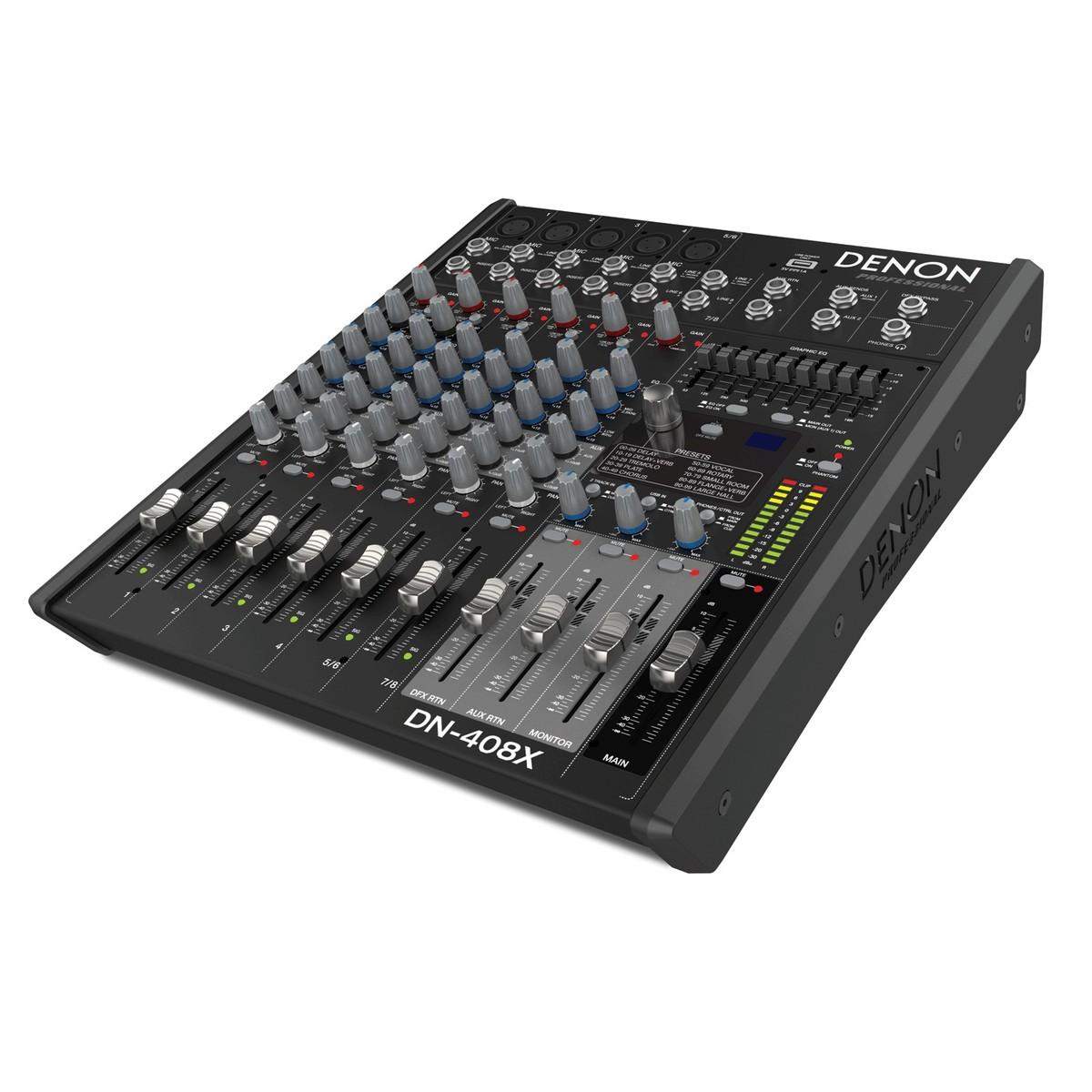 L802 8-Channel Compact Mixer   Harbinger Pro Audio