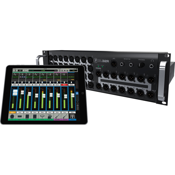 Mackie DL32R Wireless Digital Audio Mixer with Free iPad Air 16GB