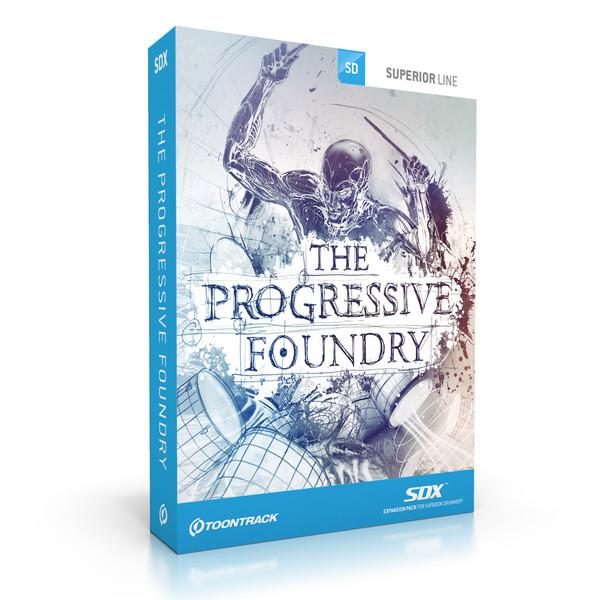 Toontrack Superior Drummer SDX Progressive Foundry