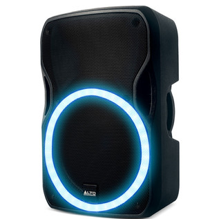Alto TSL115 Active Speaker with Circular LED Array - Side View