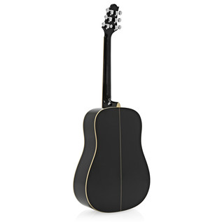 Greg Bennett D-5 Acoustic Guitar, Black
