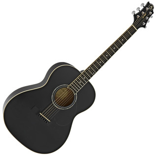 Greg Bennett GA-100S Acoustic Guitar, Black