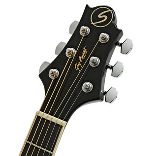 Greg Bennett GA-100S Acoustic Guitar, Black