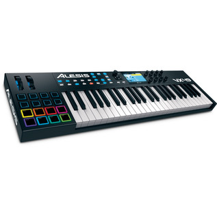 Alesis VX49 Controller Keyboard with VST Integration - Angled Front View