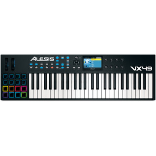 Alesis VX49 Controller Keyboard with VST Integration - Top View