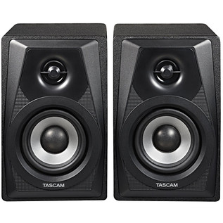 Tascam VL-S3 3 Inch Active Monitor Speakers (Pair) - Front View