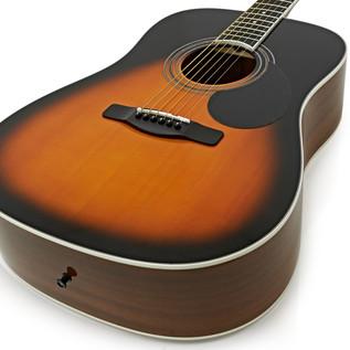 Greg Bennett GD-101S Acoustic Guitar, Vintage Sunurst