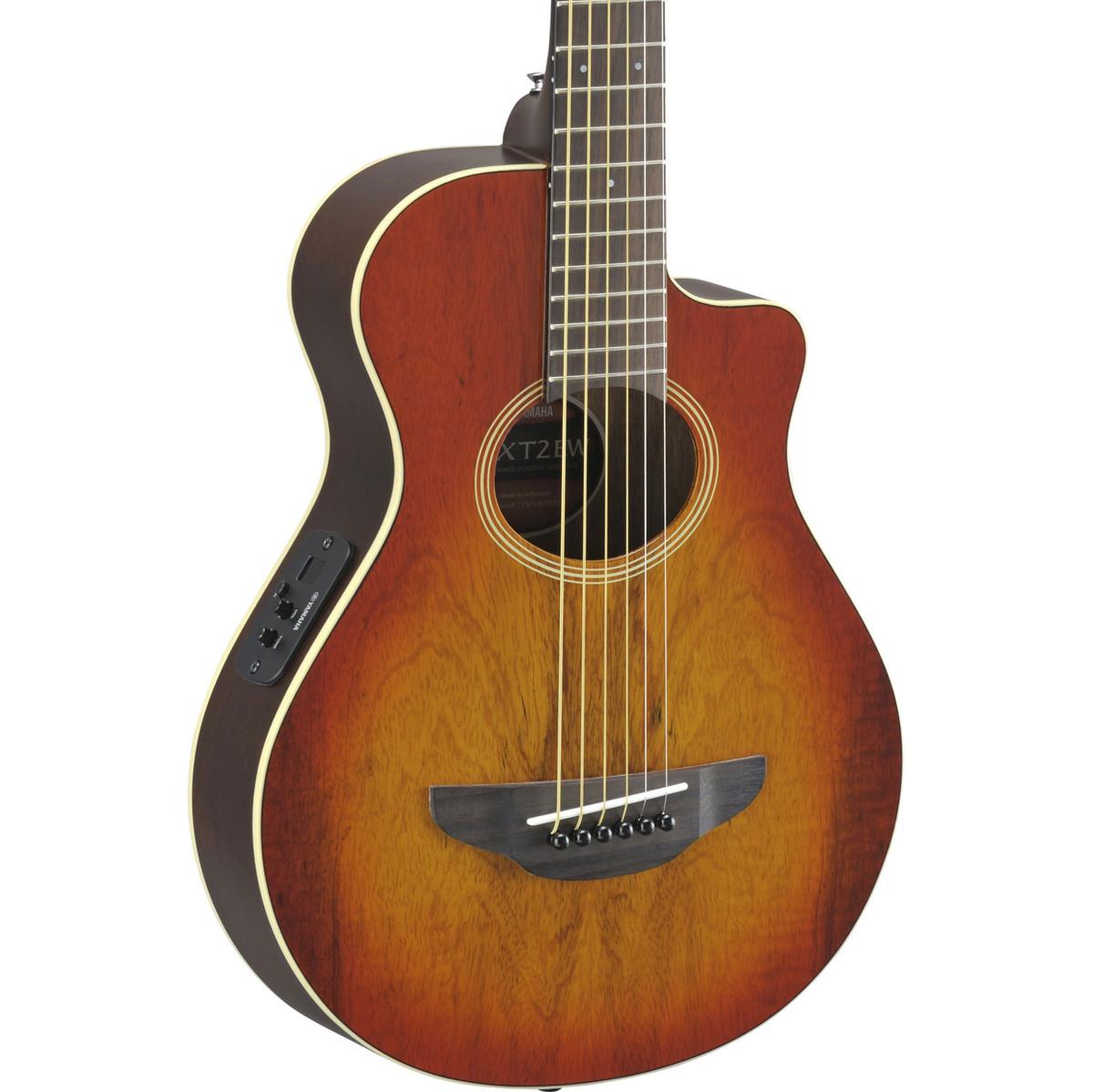 disc yamaha apxt2ew 3 4 guitare electro acoustique lumi re amber burst. Black Bedroom Furniture Sets. Home Design Ideas