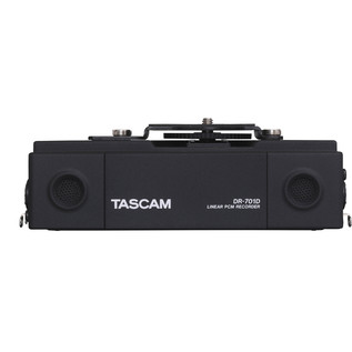 Tascam DR701D 6-Track Recorder for DSLR Cameras with HDMI - Rear View