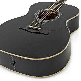 Greg Bennett OM-5 Acoustic Guitar, Black