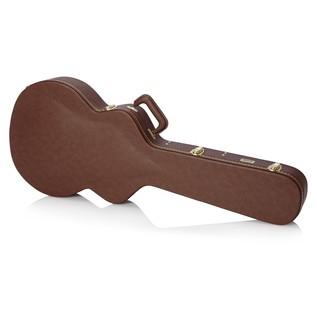 Gator GW-335-BROWN Deluxe Semi-Hollow Electric Guitar Case