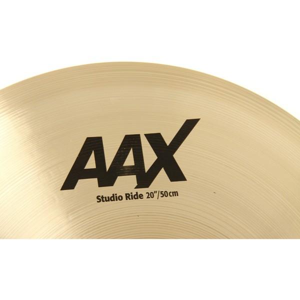Sabian AAX 20'' Studio Ride Cymbal, Brilliant Finish