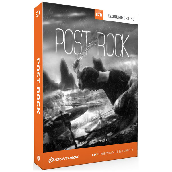 Toontrack EZX Post Rock - Boxed