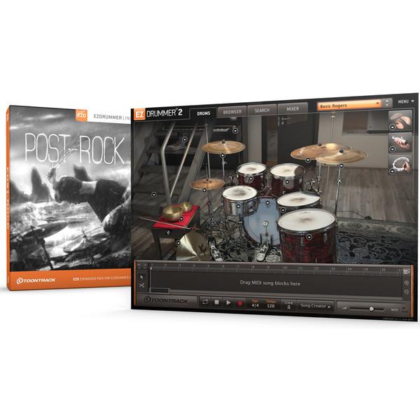 Toontrack EZX Post Rock - Boxed With Screenshot