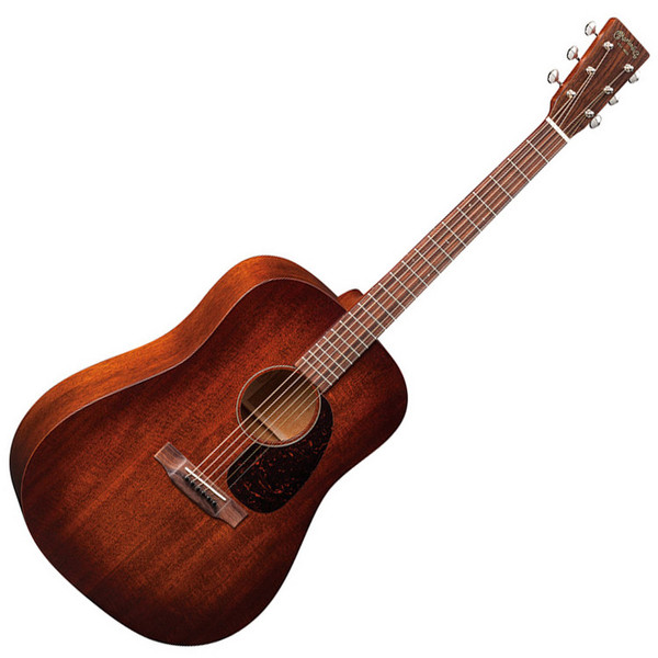 martin d 15m acoustic guitar mahogany burst top ex demo gear4music. Black Bedroom Furniture Sets. Home Design Ideas