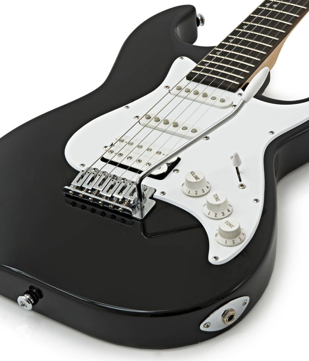 disc greg bennett malibu mb 2 electric guitar black at. Black Bedroom Furniture Sets. Home Design Ideas