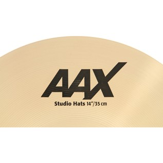 Sabian AAX 14'' Studio Hi-Hat Cymbals, Brilliant Finish