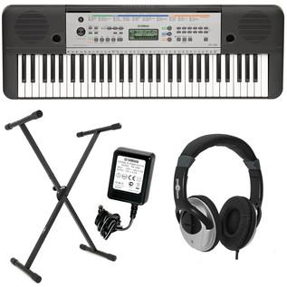 Yamaha YPT-255 61-Key Portable Keyboard Pack