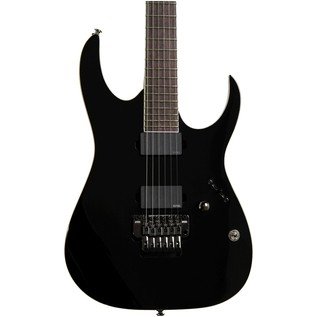 Ibanez Iron Label RGIR20E Electric Guitar, Black with FREE Gifts