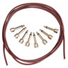 Evidence Audio Patch Kit 8 SIS Plugs with 5ft Monorail Cable