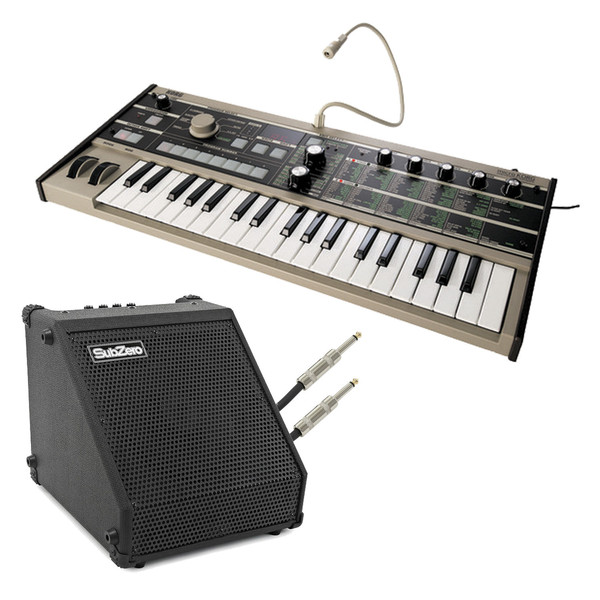 Korg microKORG Synthesizer & SubZero DR-30 Amp