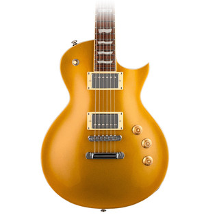 ESP LTD EC-256 Electric Guitar, Metallic Gold Top