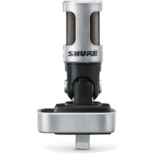 Shure MV88 MOTIV Stereo Condenser Microphone for iPhone, iPod + iPad