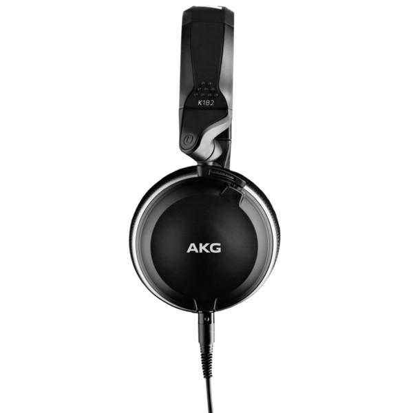 AKG K182 Closed-Back Monitoring Headphones - Side