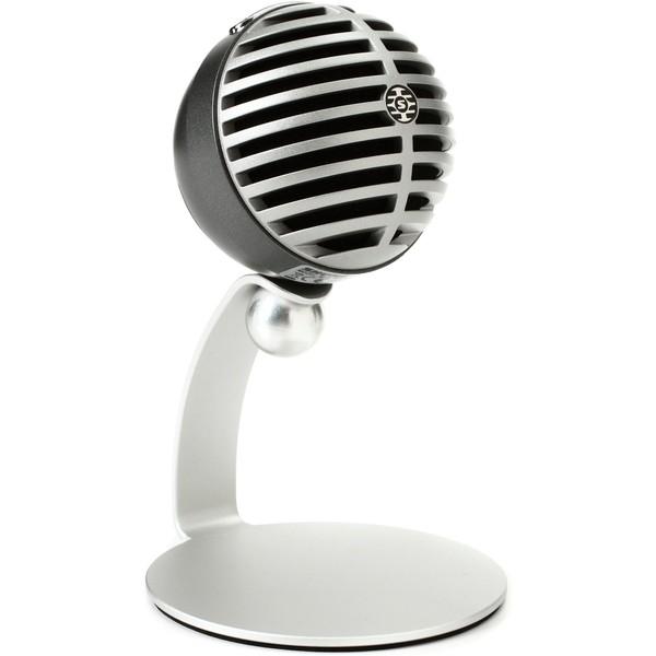 SHURE MV5 Digital condenser microphone (black) mlightning