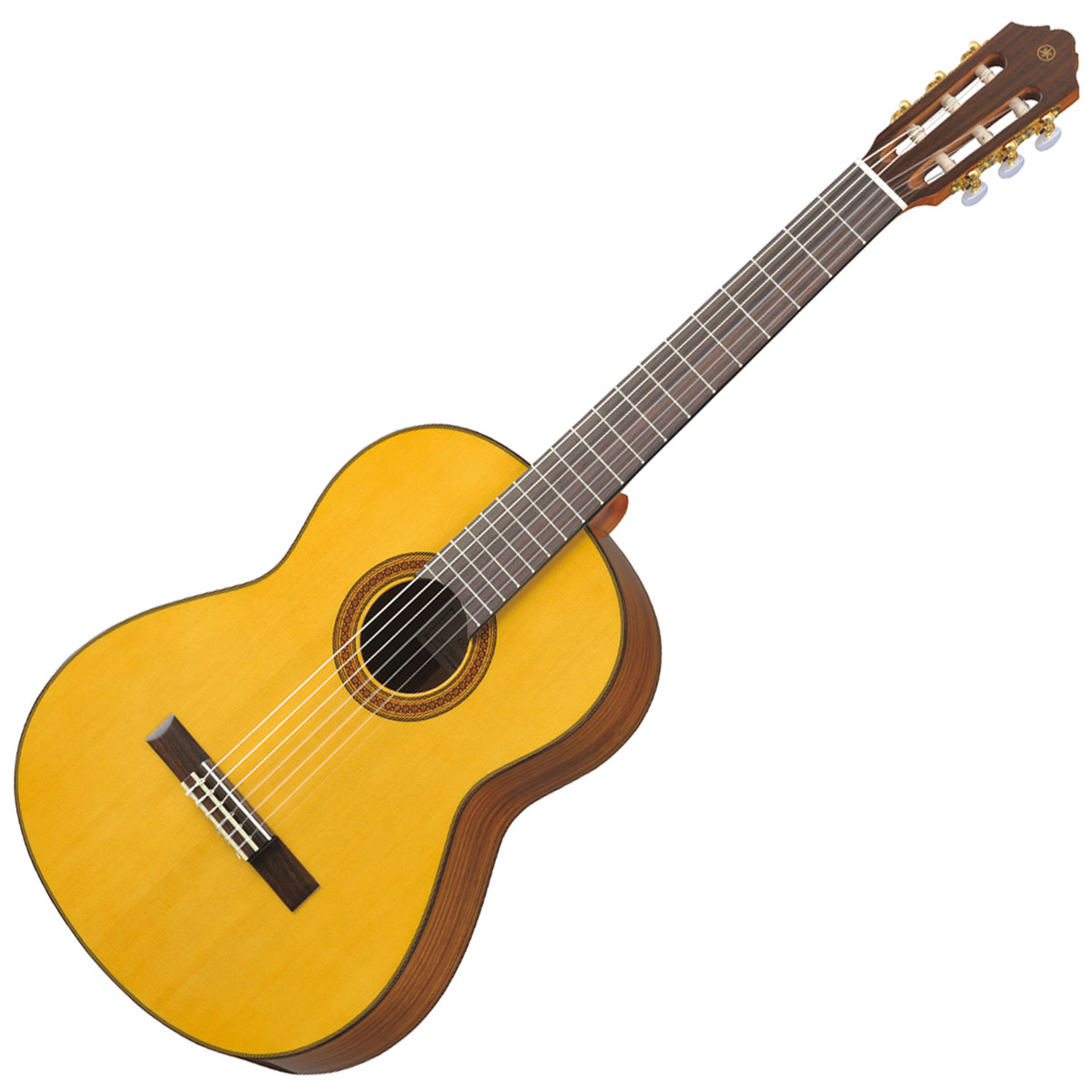 Yamaha cg162s classical acoustic guitar natural at for Yamaha classic guitar