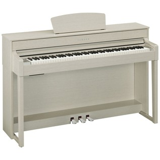 Yamaha Clavinova CLP535 Digital Piano, White Ash Package Deal