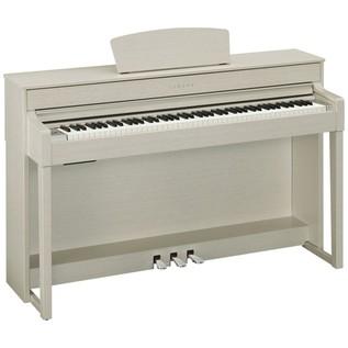 Yamaha Clavinova CLP535 Digital Piano, White Ash Package Deal