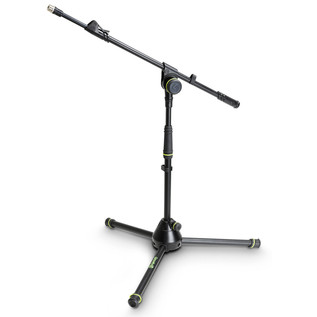 Gravity GMS4212B Short Microphone Stand with Telescopic Boom